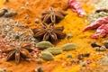 Картинка звёздочки, перец, пряности, специи, chili, приправы, кардамон