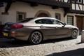 Картинка фон, BMW, БМВ, вид сзади, Gran Coupe, Гран Купе, 640d