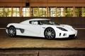 Картинка белый, Koenigsegg, суперкар, white, CCX, кёнигсег