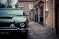 Картинка Aston Martin, front, tree, street, bulding