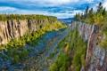 Картинка скалы, Канада, каньон, Онтарио, Canada, Ontario, Ouimet Canyon