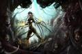 Картинка Starcraft 2, Zerg, Sarah Kerrigan, Heart of the Swarm