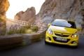 Картинка car, машина, движение, скорость, поворот, Opel, автомобиль