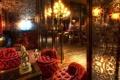 Картинка Элитное, золото, заведение, кресла, Будда, свечи, элита