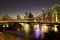 Картинка Australia, Австралия, ночь, река., naght, огни, высотки