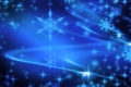 Картинка снежинки, звёзды, линии