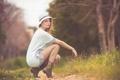 Картинка взгляд, шляпка, ножки, Autumn Wind