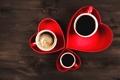 Картинка love, sweet, coffee, romantic, кофе, любовь, сердце