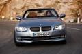 Картинка Серый, BMW, Девушка, Передок, Машина, 3 Serie, Водитель