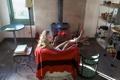 Картинка девушка, фон, Living room and pantry