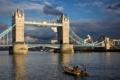 Картинка мост, город, Лондон