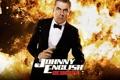 Картинка пистолет, Johnny English Reborn, джонни инглиш перезагрузка, Роуэн Аткинсон, смокинг, Rowan Atkinson, пламя
