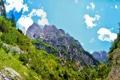 Картинка небо, пейзаж, горы, природа, скала, Словения, Bovec