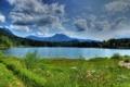 Картинка трава, пейзаж, горы, природа, река, фото, Германия