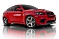 Картинка красный, BMW, X6М