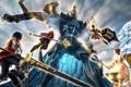 Картинка Ragnarok Odyssey, оружие, гигант, битва
