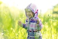 Картинка поле, трава, настроение, ребёнок