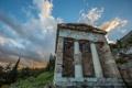 Картинка колонны, архитектура, склон, Дельфы, Греция, храм
