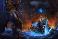 Картинка starcraft, warcraft, arthas, Zeratul, Thrall, Heroes of the Storm