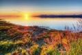 Картинка закат, птицы, река, Canada, Фотограф IvanAndreevich