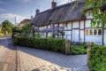 Картинка город, фото, улица, Англия, дома, Hampshire, Easton