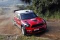 Картинка поворот, пыль, rally, италия, дани сордо, italy, dani sordo