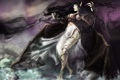 Картинка девушка, крылья, демон, арт, цепи, league of legends, morgana