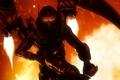 Картинка огонь, злодей, шлем, firefly, Batman: Arkham Origins