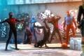 Картинка venom, Человек-паук, Marvel Comics, Spider-Man, symbiote, Scarlet Spider, Ben Reilly