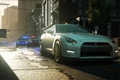Картинка город, трасса, полиция, погоня, Need for Speed, ниссан, Electronic Arts