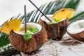 Картинка кокос, коктейль, напиток