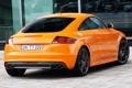 Картинка car, Audi, Coupe, orange, задок, выхлопы, Audi TTS