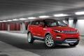 Картинка car, красный, обоя, внедорожник, стоит, автомобиль, rover