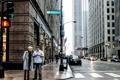 Картинка город, движение, улица, небоскребы, Чикаго, Иллиноис