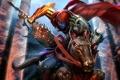 Картинка конь, Игра, арт, клинок, Darksiders Wrath of War