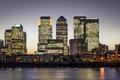 Картинка city, город, lights, огни, Англия, Лондон, небоскребы