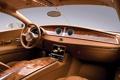 Картинка скрипка, руль, салон, роскошь, 2009 Bugatti 16C Galibier Concept