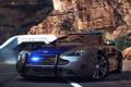 Картинка дорога, Aston Martin, полиция, need for speed, hot pursuit