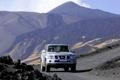 Картинка горы, внедорожник, Nissan patrol