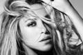 Картинка лицо, ч/б, певица, шакира, Shakira
