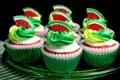Картинка арбуз, сладости, сахар, крем, десерт, пирожные, сладкое