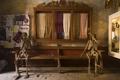 Картинка скелеты, лавка, рендеринг