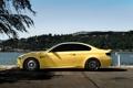 Картинка авто, желтый, тюнинг, бмв, bmw m3