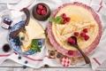 Картинка фрукты, десерт, pancakes, еда, Anna Verdina, блины