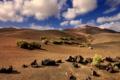 Картинка песок, камни, холмы, пустыня, Испания