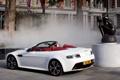 Картинка Aston Martin, Авто, Город, Белый, Кабриолет, vantage, V12