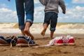 Картинка parent, sea, games, fun, child
