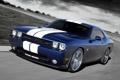 Картинка Dodge, SRT8, Challenger, blue, передняя часть, 392, Inaugural Edition
