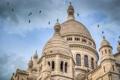 Картинка небо, Франция, Париж, купол, Базилика Сакре-Кёр
