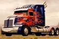 Картинка грузовик, передок, Optimus Prime, Оптимус Прайм, тягач, трак, Western Star